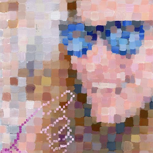 Portrait de Susan Kare par Chloé Cruchaudet